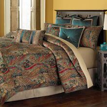 9pc Queen Comforter Set Honey