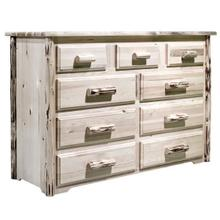 Montana Collection 9 Drawer Dresser