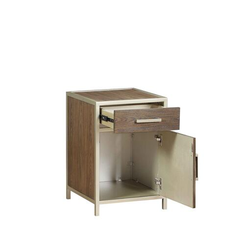 Korson Furniture - 1-Door, 1-Drawer Chairside Cabinet