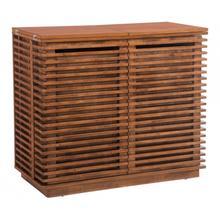 See Details - Linea Bar Cabinet Walnut