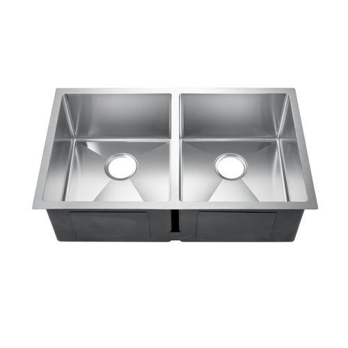 Geraldine Double Bowl Stainless Kitchen Sink