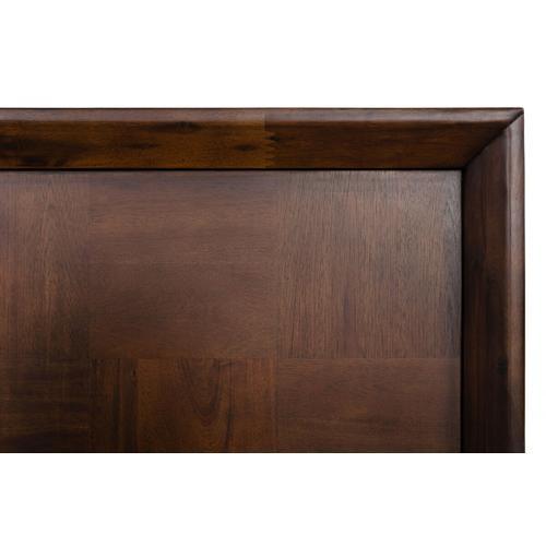 Gallery - Modrest Shane - Modern Acacia & Brass Bed