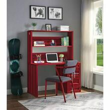 ACME Cargo Desk & Hutch - 37917 - Red
