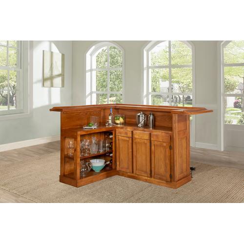 Product Image - Classic Oak Large Bar With Side Bar