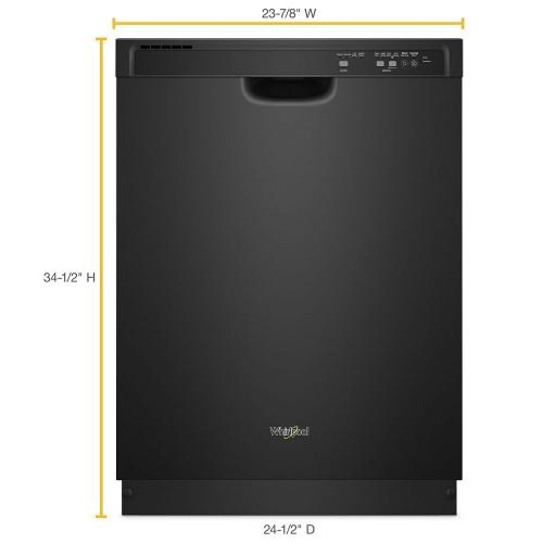 Whirlpool - ENERGY STAR® certified dishwasher with 1-Hour Wash cycle
