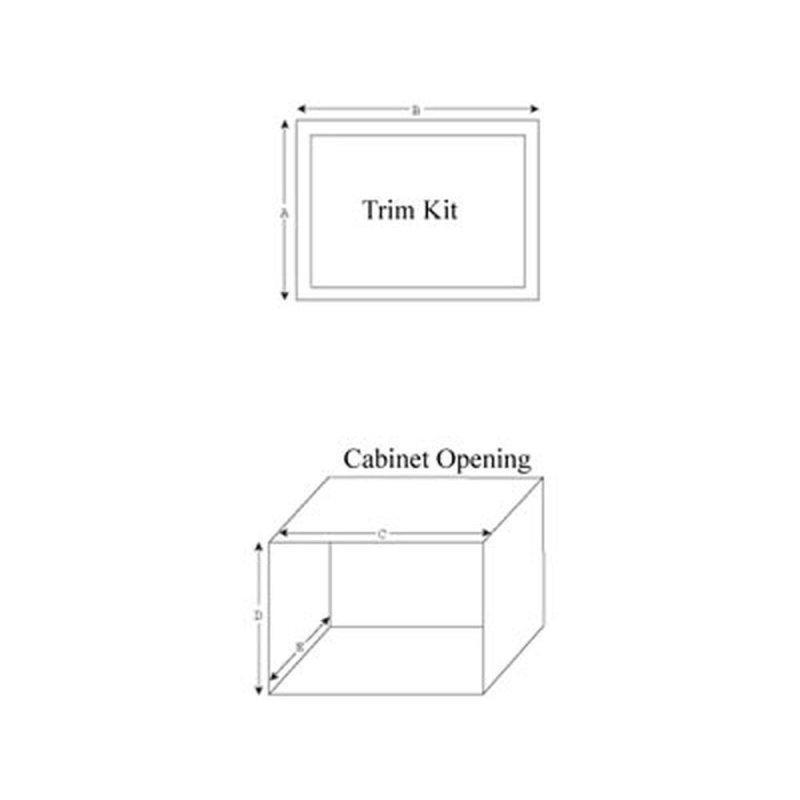 "27"" Trim Kit for select Microwaves"