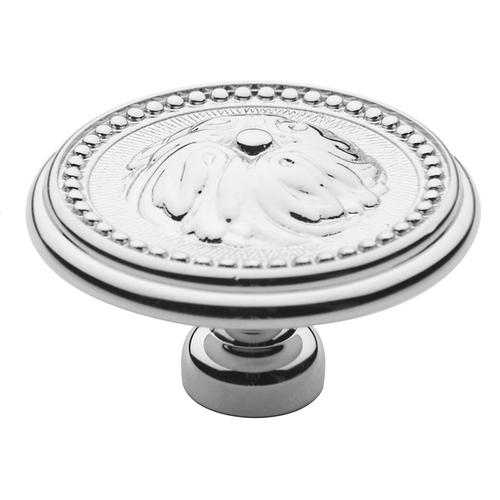 Polished Chrome Ornamental Knob