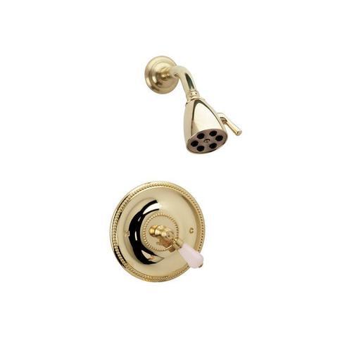 REGENT Pressure Balance Shower Set PB3273 - Satin Gold with Satin Nickel