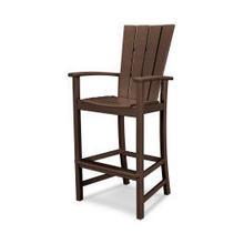 View Product - Quattro Adirondack Bar Chair in Mahogany