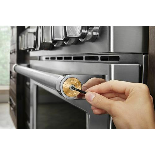KitchenAid - KitchenAid® Commercial-Style Range Handle Medallion Kit - New Gold