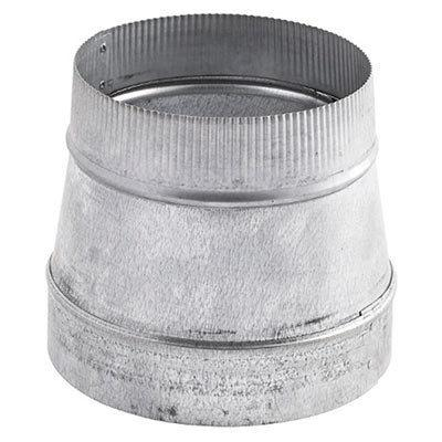 """Broan - Transition Reducer from 8"""" to 6"""" for use with Range Hoods"""