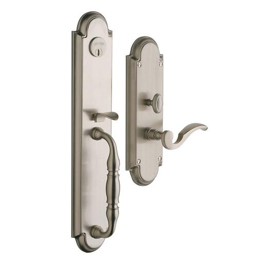 Satin Nickel Hamilton Entrance Set