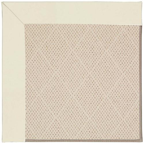 Creative Concepts-White Wicker Canvas Ivory Machine Tufted Rugs