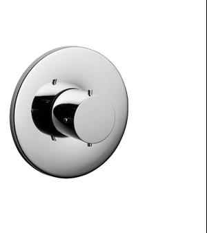 Chrome Shut-off valve for concealed installation Product Image