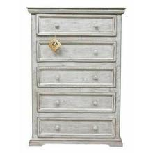 See Details - Small White Coliseo Chest