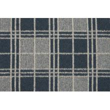 Elements Quadrant Quad Navy/ivory Broadloom Carpet
