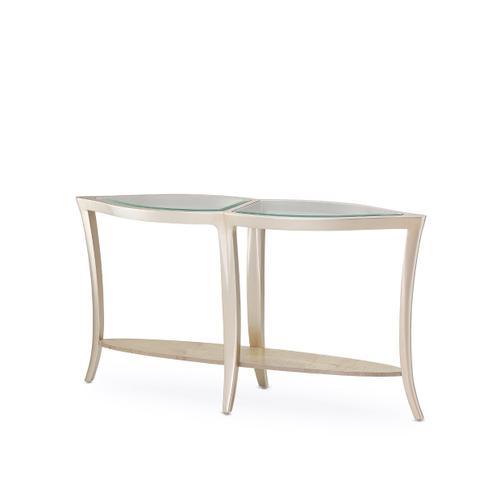Amini - Console Table W/glass