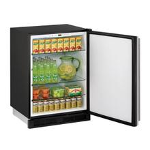 "U-Line U1224RS00B  24"" Refrigerator With Stainless Solid Finish (115 V/60 Hz Volts /60 Hz Hz)"