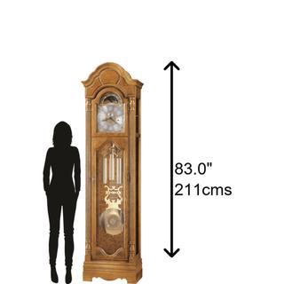 See Details - Howard Miller Bronson Grandfather Clock 611019