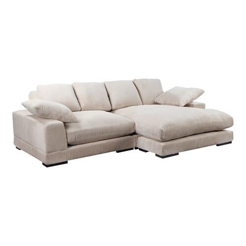 Moe's Home Collection - Plunge Sectional Cappuccino