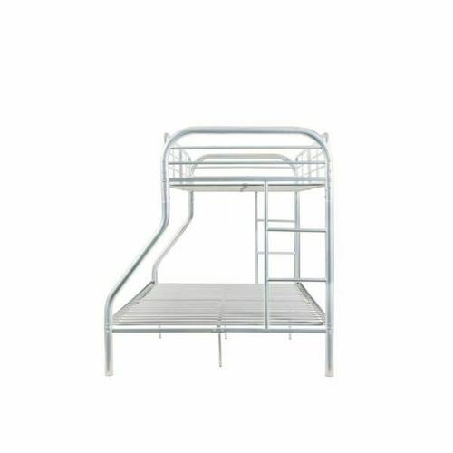 ACME Tritan Twin/Full Bunk Bed - 02043SI - Silver