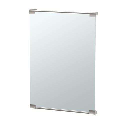 Decor Mirror in Satin Nickel