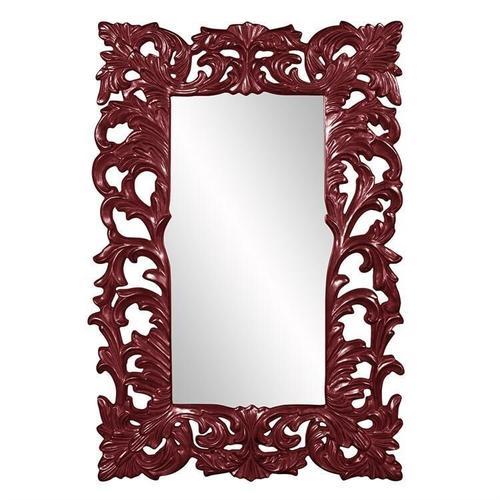 Howard Elliott - Augustus Mirror - Glossy Burgundy