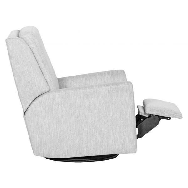 See Details - Hickory Arm Manual Push Back Swivel Glider Recline