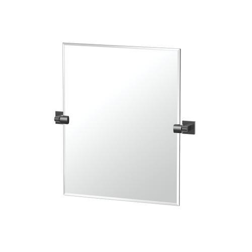 Elevate Rectangle Mirror in Matte Black
