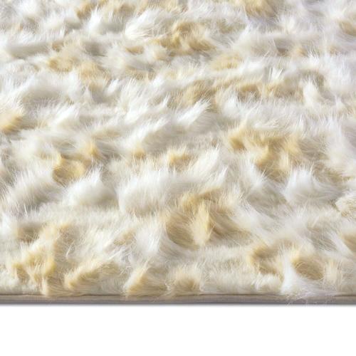Capel Rugs - Luxe Shag Artic Cream - Rectangle - 10' x 14'