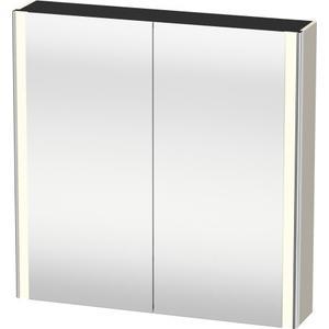 Mirror Cabinet, Taupe Matte (decor)