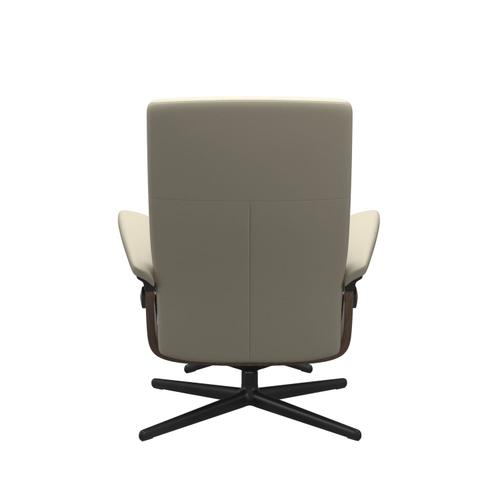 Stressless By Ekornes - Stressless® Dover (L) Cross Chair with Ottoman