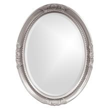 View Product - Queen Ann Mirror - Glossy Nickel