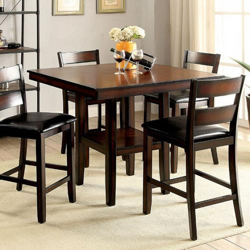 Furniture of America - Norah 5 Pc. Counter Ht. Table Set