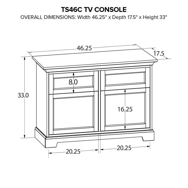 TS46C Custom TV Console