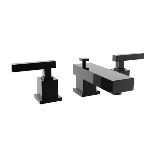 Newport Brass - Gloss Black Widespread Lavatory Faucet