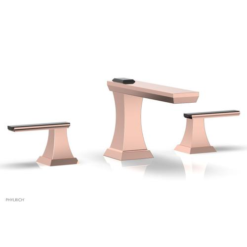 WAVELAND Widespread Faucet - Polished Copper