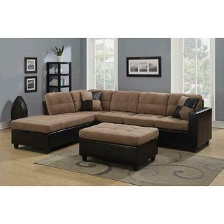 See Details - Mallory Casual Tan Sectional