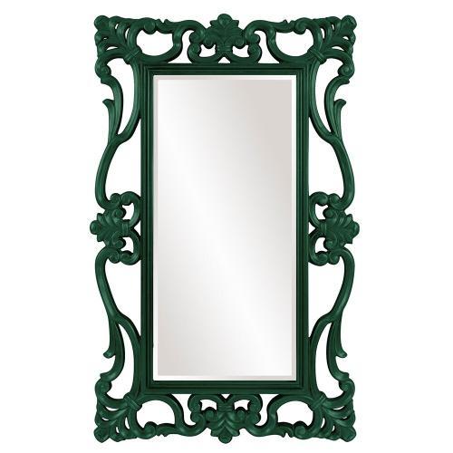Howard Elliott - Whittington Mirror - Glossy Hunter Green
