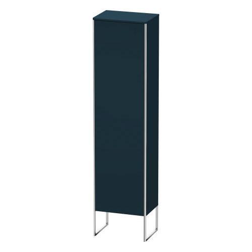 Tall Cabinet Floorstanding, Night Blue Satin Matte (lacquer)