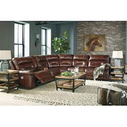 Bancker 7-piece Reclining Sectional With Power