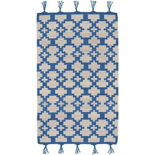 Capel Rugs - Valla Azul - Rectangle - 7' x 9'