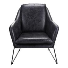 Greer Club Chair Black