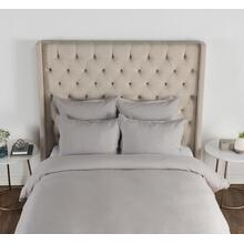Arcadia Dove Gray King Duvet