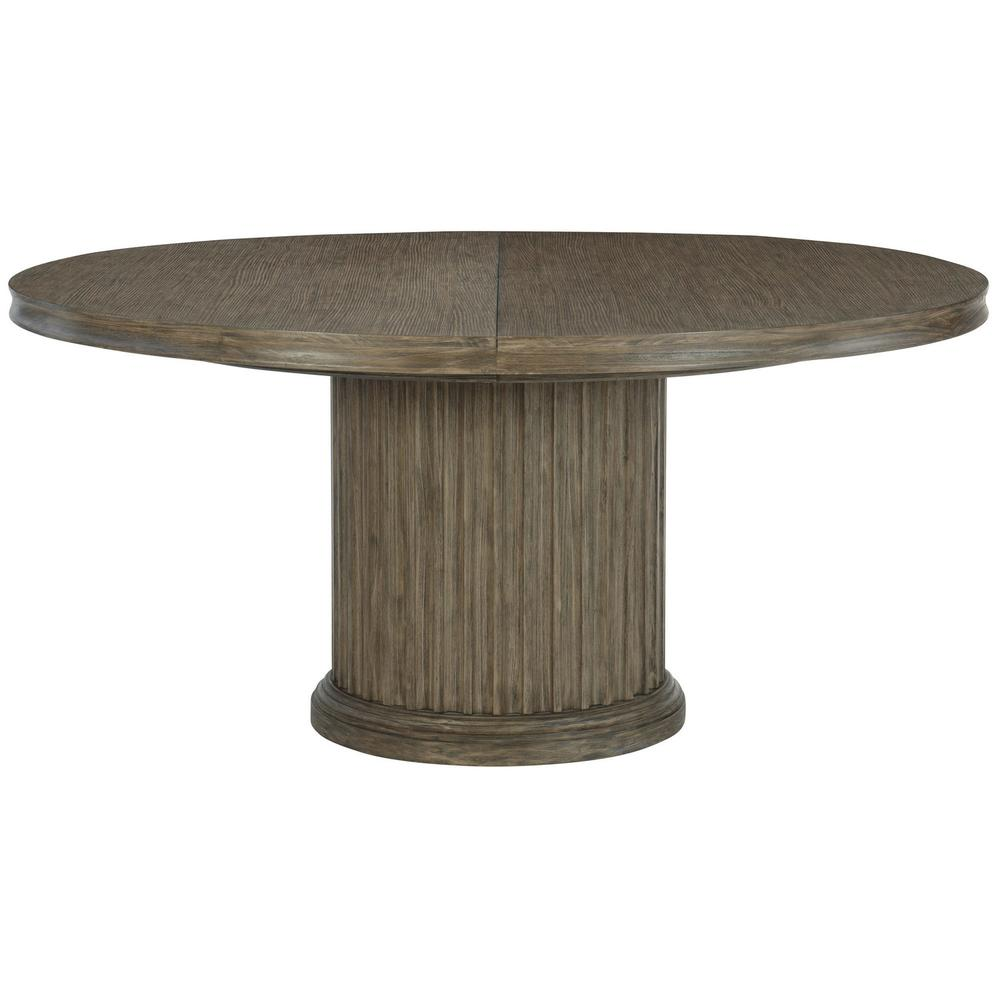 Canyon Ridge Round Dining Table in Desert Taupe (397)