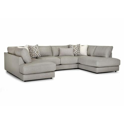 900 Luna Leather Sectional