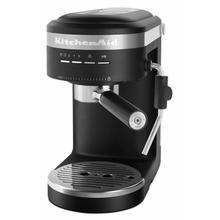 See Details - Semi-Automatic Espresso Machine - Black Matte