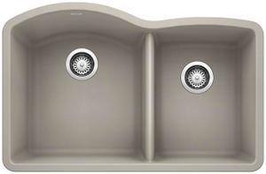 Diamond 1-3/4 Bowl - Concrete Gray Product Image
