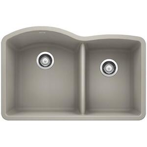 Diamond 1-3/4 Bowl - Concrete Gray