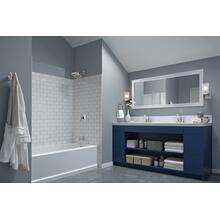 Chrome Monitor ® 14 Series H 2 Okinetic ® Tub & Shower Trim